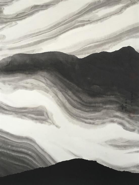 灵山积云 89x67cm 2014