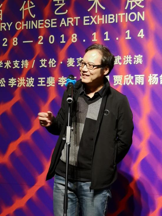 批评家、当代艺术策展人 中央美院美术馆副馆长 王春辰 发言