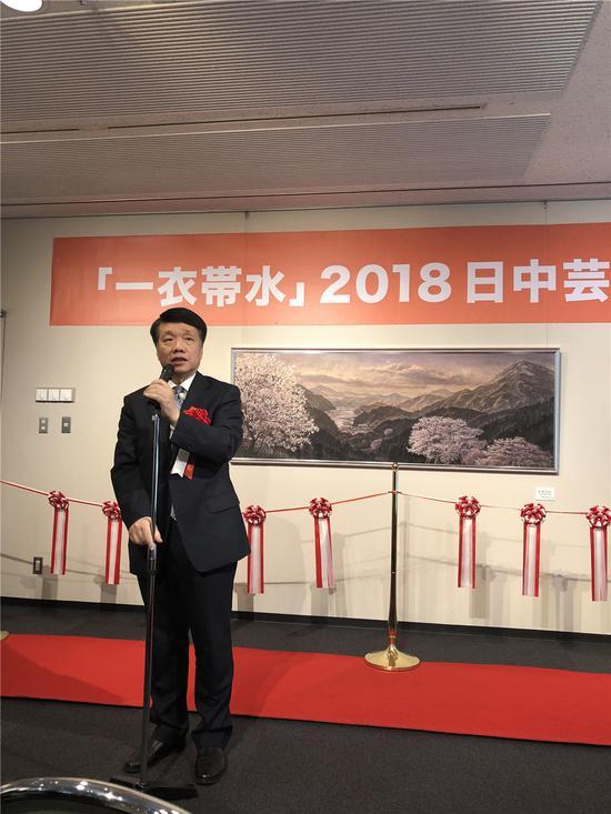 中国日本大使馆文化参赞陈琤先生祝词