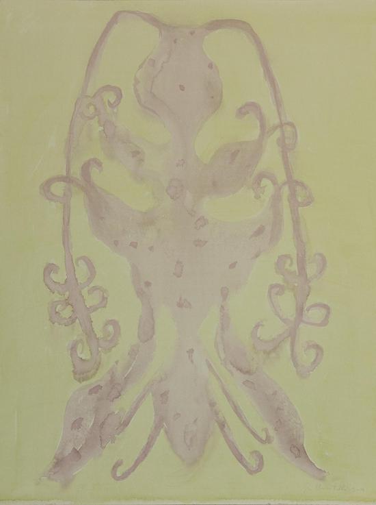 《蝴蝶效应》 纸本水彩渲染  61x46cm 2018