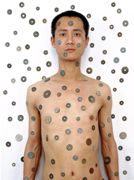 邱志杰(Tattoo 4, Size:100.33x80.01cm, C-Print, 2000)