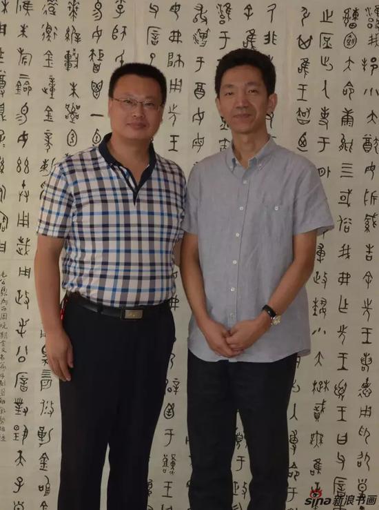 与中书协高庆春先生