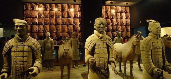 秦兵马俑已在41个国家和地区150多个城市展出