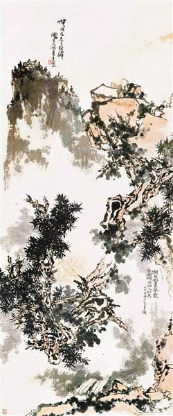 《无限风光》 潘天寿