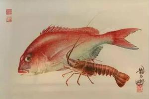 鱼拓:将真鱼当画笔的绘画艺术