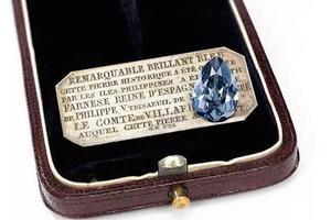 一枚法纳斯蓝蓝钻眼中的欧洲三百年风云历史