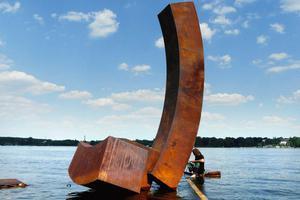 如此简单的雕塑却赢得了世界的赞誉