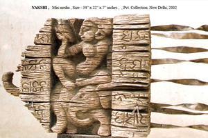 游走于自然材料之间的雕塑家TUTU PATTNAIK