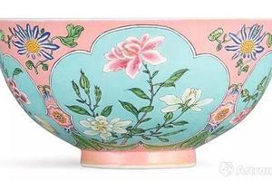 康熙御制珐琅彩花卉碗会是世界拍卖新纪录?