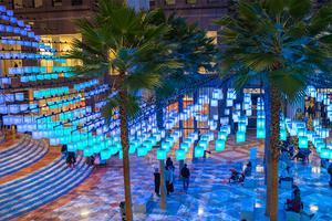 洛克威尔集团为纽约中心广场打造华丽灯光装置