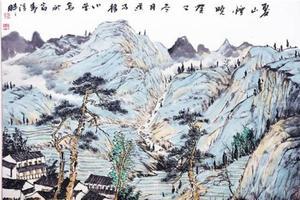 蕉雨清远——观读冯小莹先生的国画