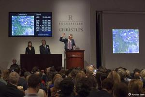 洛克菲勒世纪拍卖52.8亿元收槌创私人藏家专拍纪录
