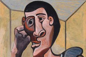 佳士得纽约临时撤拍毕加索自画像《水手》