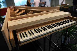 到中华世纪坛体验意大利钢琴之旅