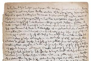 马克思珍贵手稿以333.5万元人民币成交