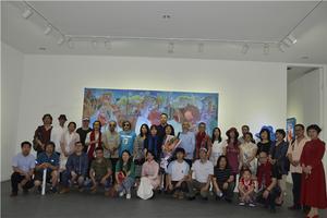 刘国义个人油画展亮相于798第零空间