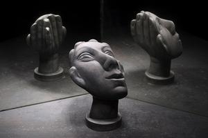 简单粗暴的多元素融合雕塑