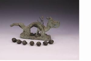 镀金铜龙:嘉靖皇帝南巡时祈求社稷平安所放