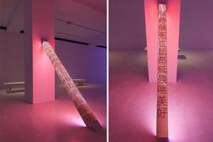 金钱造就品味-LED概念艺术