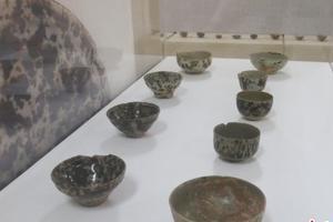 桂林举办古代窑址陶瓷标本展览