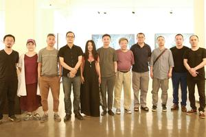 林芮—神秘花园作品展在北京798先声画廊开幕