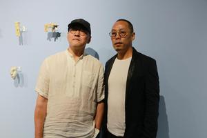 于凡&谭勋双个展在北京金融街购物中心开幕