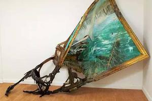 作品雕塑化變形,她的創作讓人大開眼界