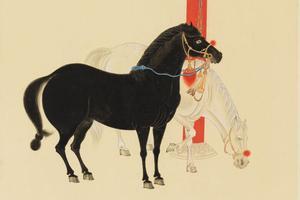 你知道张大千是拍场常青树 但知道他擅长画马吗
