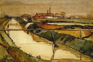 民国第一代留欧现代画家:林克恭