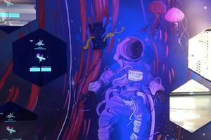 """""""群体意识""""科技艺术展全球首展在沪举行"""