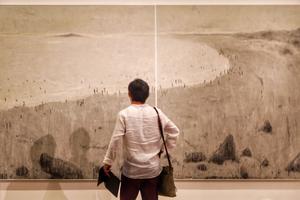 寥:杜小同水墨作品展亮相中国美术馆