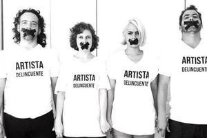 古巴艺术家抗议国家压抑艺术自由