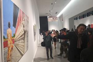 匈牙利当代艺术展在重庆美术馆开幕