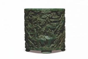 伦敦苏富比中国艺术珍品 清乾隆御制备受瞩目