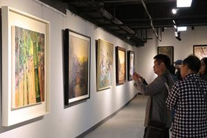 两场国家级画展落户环翠开展 市民共享艺术盛宴