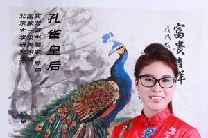 陈鸿——雅号孔雀皇后  荷花仙子的艺术交流历程