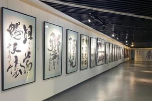 赵翼舟全球书法艺术巡展亮相长沙