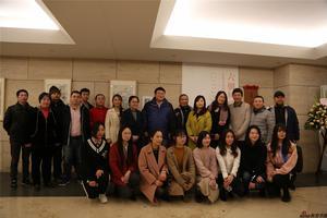 六朝风韵——东南大学师生十人画展昨天隆重开幕