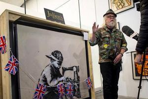 艺术家称要毁掉价值73万美元的班克西画作