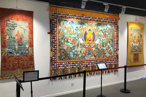 菩提花开:唐卡佛像艺术展亮相西黄寺博物馆