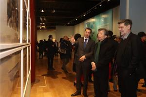 中保当代美术交流展在太庙艺术馆展出