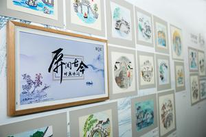 """""""古桥印象""""少年儿童画展于国家图书馆开幕"""