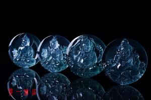 翠一雅居打造传世珍品 顶级玻璃种翡翠问世