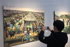 """""""城视:夏理斌个展""""在上海新美术馆开幕"""