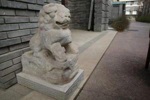 圆明园受赠8件清代石刻 包含石座1件石狮2只等文物