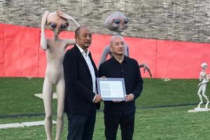 """傅榆翔""""移民外星人""""亚洲首场国际巡回展开幕"""