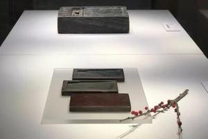 去松江博物馆看砚的演变史 赏吴昌硕铭太史砚