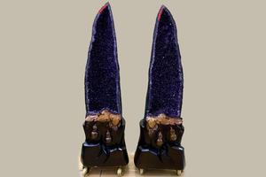 库拍推出极品对洞 乌拉圭紫水晶