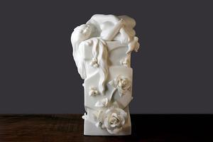 库拍推出《梦香》名家白瓷精品摆件