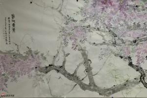 上海乐震文等七画家妙笔绘盛世 翰墨颂中华笔会